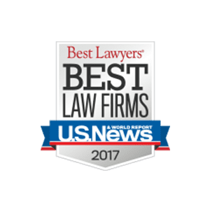Best law Firms U.S. News 2017