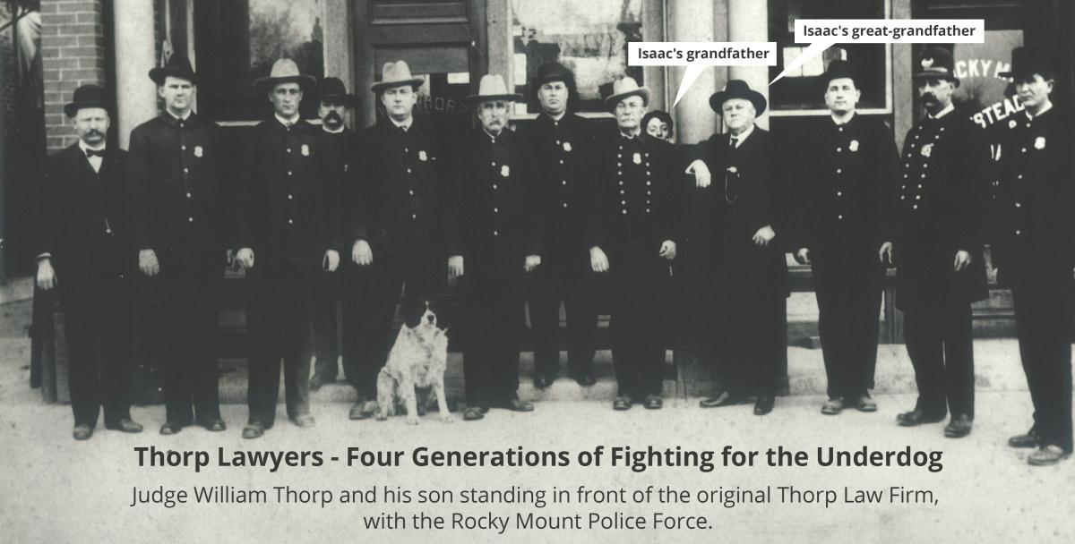 Thorp Lawyers - Four Generations of Fighting for the Underdog